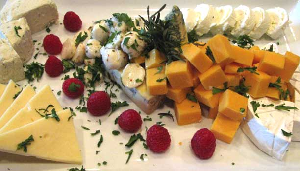 Private Chef Allyn Griffith's Exploration of fine cheeses
